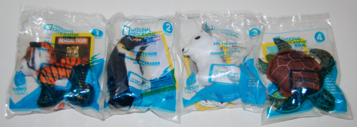 Nat geo happy meal toys 1