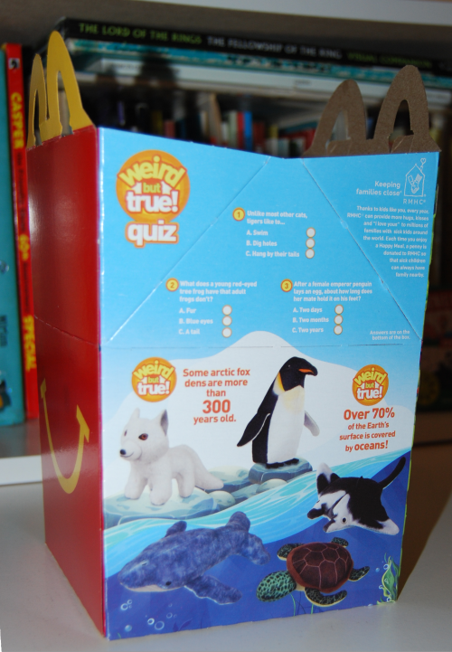 Nat geo happy meal toys 4