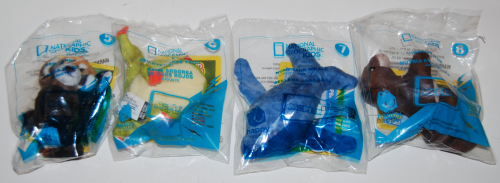 Nat geo happy meal toys 2