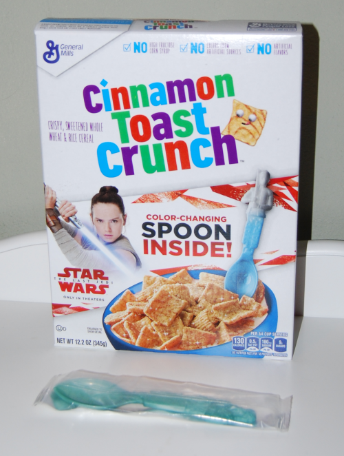 Star wars color changing spoon