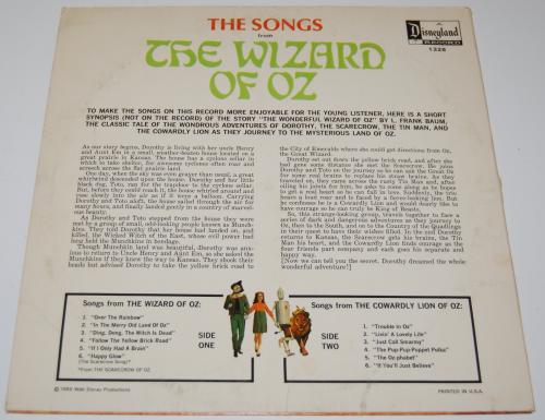 Wizard of oz vinyl x