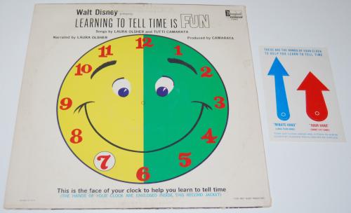 Disney tell time vinyl x
