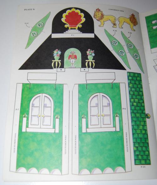 Cut & assemble the emerald city of oz 9