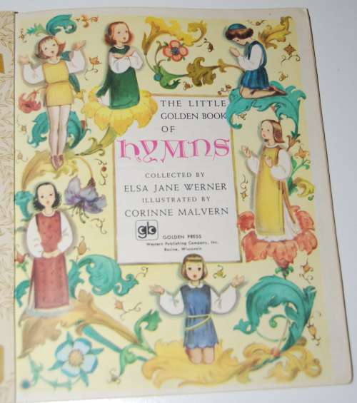 Little golden book hymns x