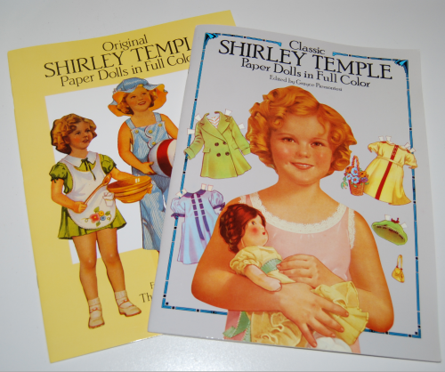 Shirley temple paperdolls