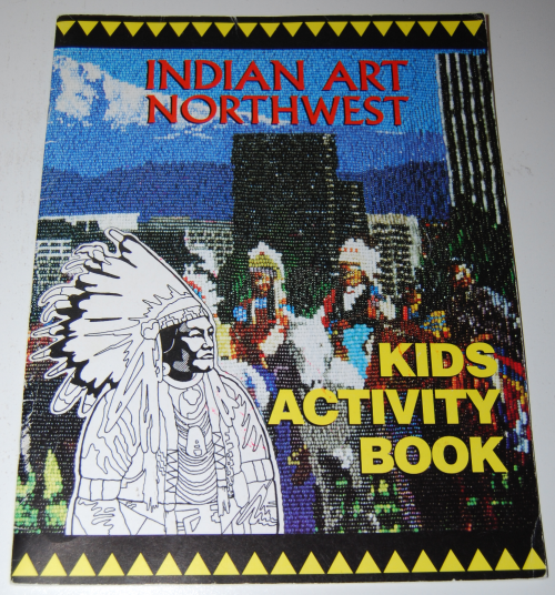 American indian art nw coloring book