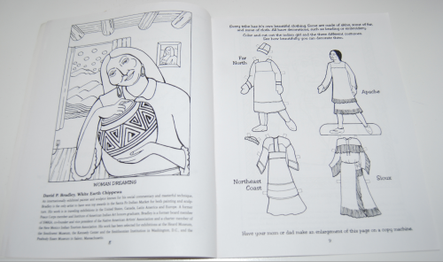 American indian art nw coloring book 4