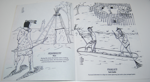 American indians coloring book 2