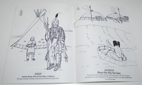 American indians coloring book 7