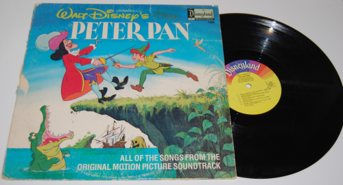 Disney peter pan vinyl