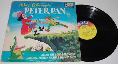 Disney peter pan vinyl