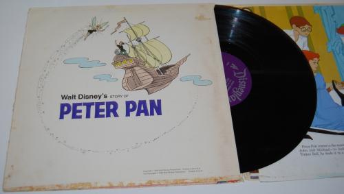 Disney peter pan vinyl 3