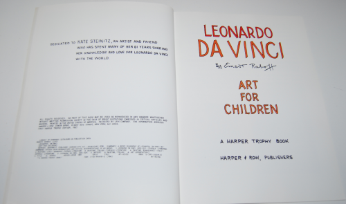 Art for children da vinci 2