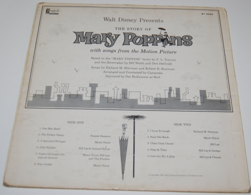 Disney mary poppins vinyl 4