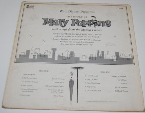 Disney mary poppins vinyl 4