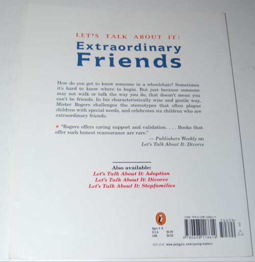 Mister rogers book extraordinary friends x
