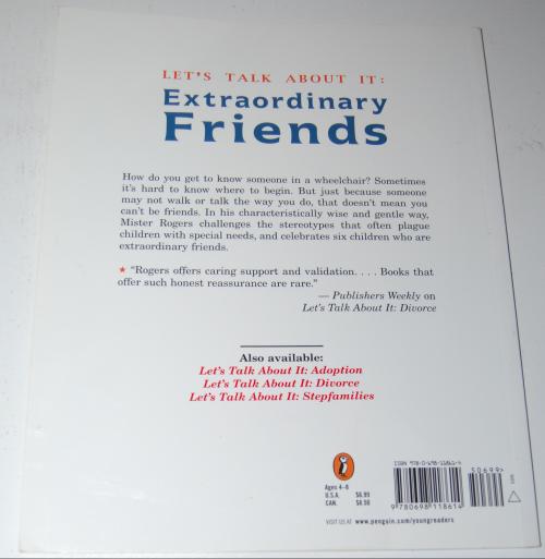 Mister rogers book extraordinary friends x