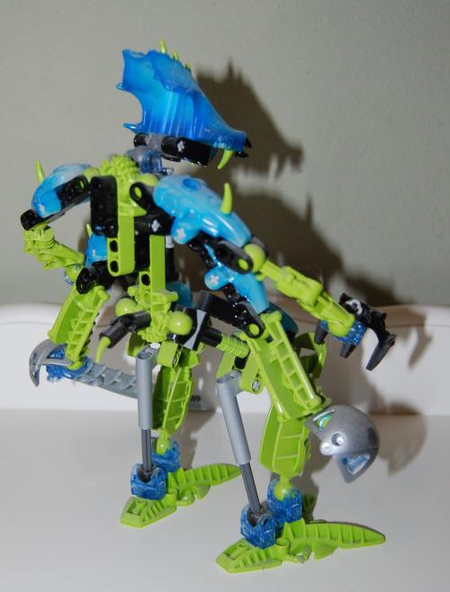 Raven's custom bionicle figures 1x