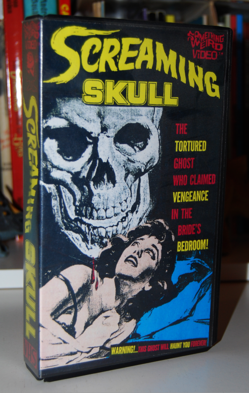 The screaming skull vhs