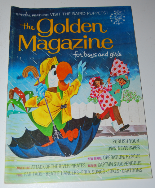 Golden magazine april 1969