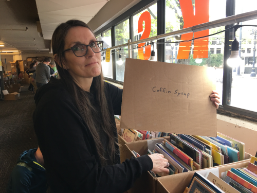 Library sale pdx 2018 vampire humor