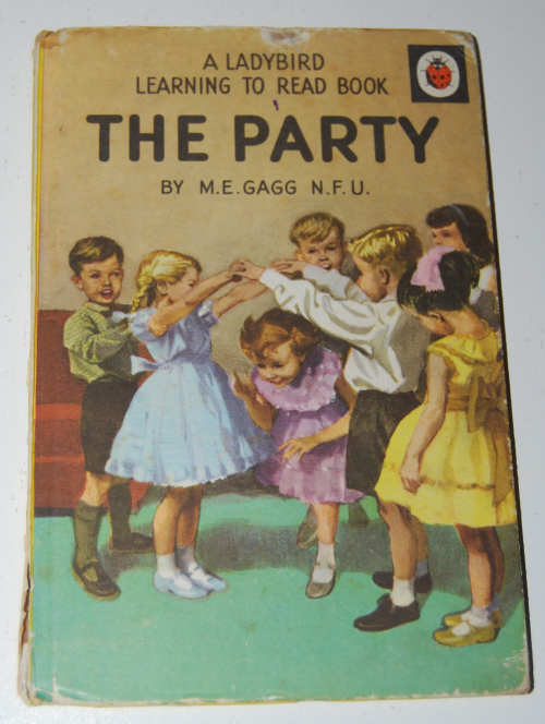 Ladybird book the party