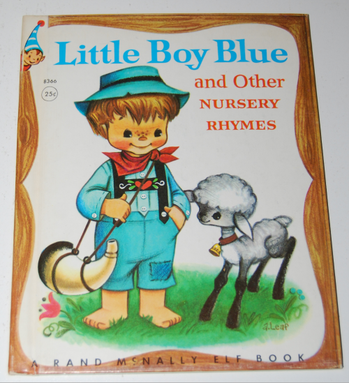 Rand mcnally elf book little boy blue