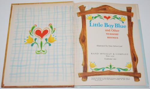 Rand mcnally elf book little boy blue 1