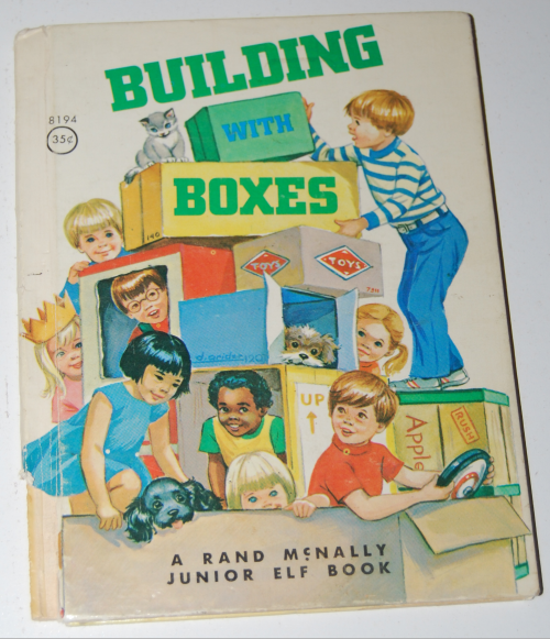 Rand mcnally elf book building with boxes