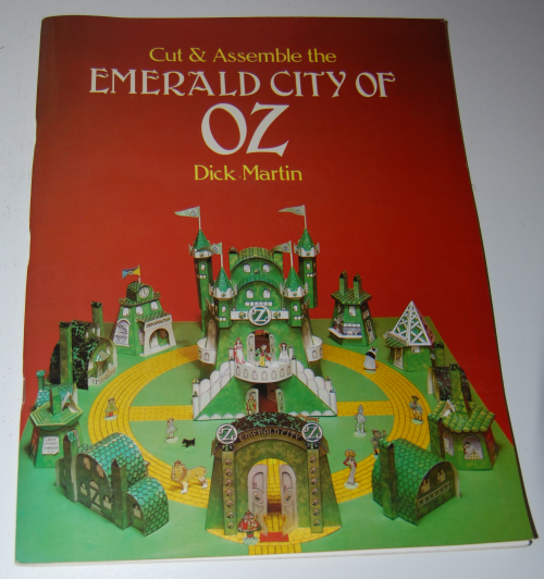 Cut & assemble the emerald city of oz