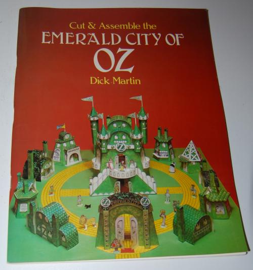 Cut & assemble the emerald city of oz
