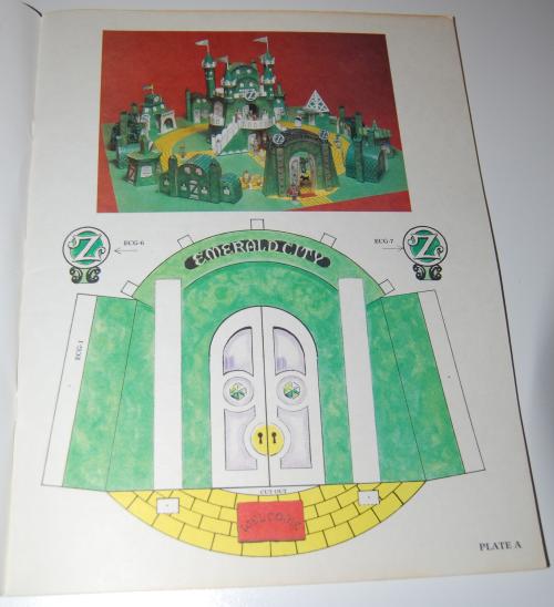 Cut & assemble the emerald city of oz 2