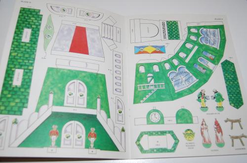 Cut & assemble the emerald city of oz 4