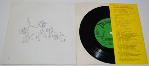 Disney aristocats vinyl record x