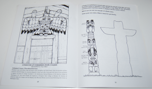 American indian art nw coloring book 6