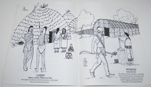 American indians coloring book 8