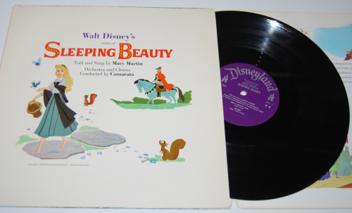 Disney sleeping beauty vinyl 1