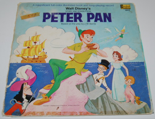 Disney peter pan vinyl 1