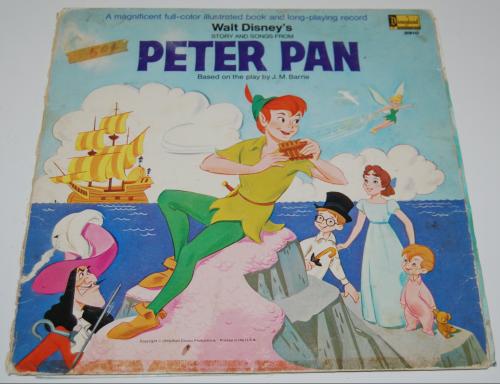 Disney peter pan vinyl 1