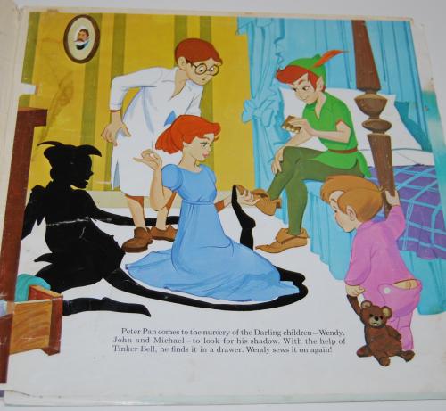 Disney peter pan vinyl 4