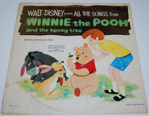 Disney pooh vinyl