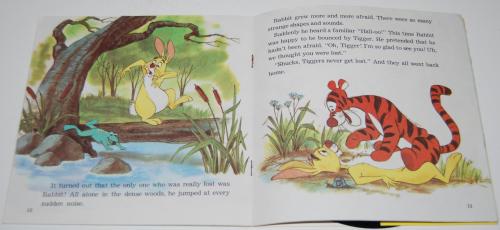 Disney pooh & tigger vinyl record 3