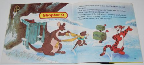 Disney pooh & tigger vinyl record 4