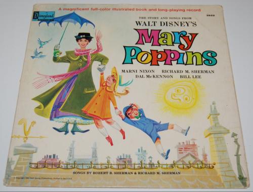 Disney mary poppins vinyl 2