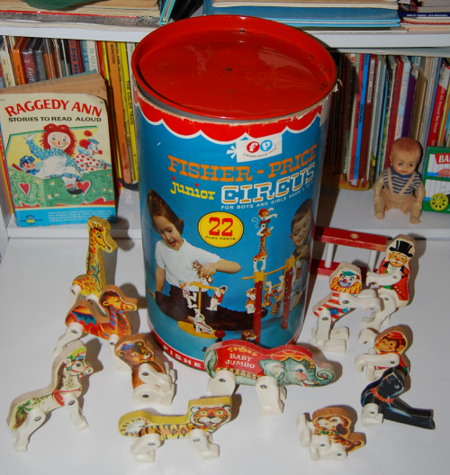 Fisher price jr circus vintage