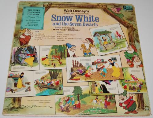 Disney snow white vinyl 3