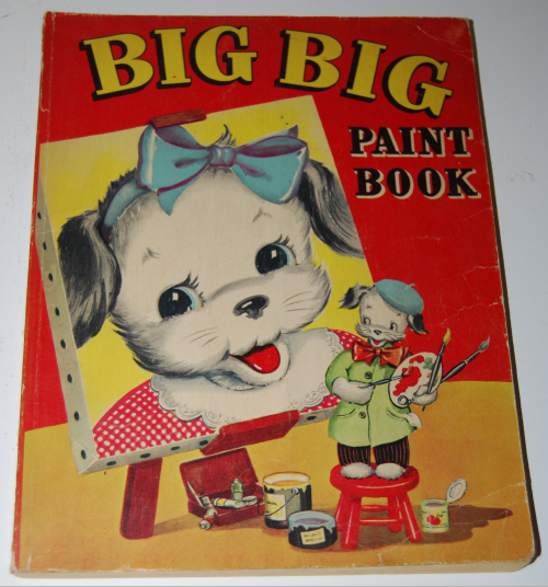 Whitman big big paint book 1948