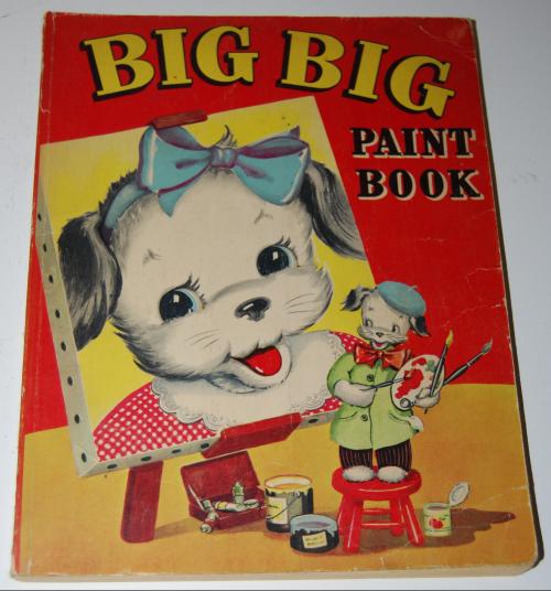 Whitman big big paint book 1948
