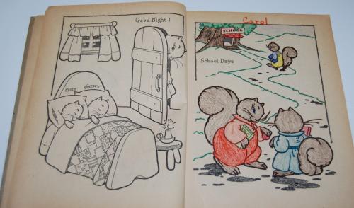 Whitman big big paint book 1948 3