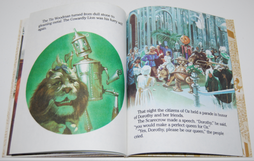 Little golden book  return to oz 6